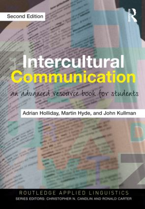 Intercultural Communication: An Advanced Resource Book for Students, 2nd Edition (Paperback) book cover
