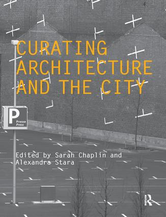 Curating Architecture and the City (Paperback) book cover