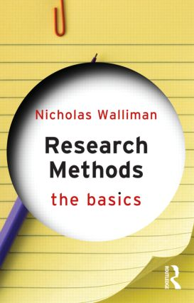 Research Methods: The Basics (Paperback) book cover