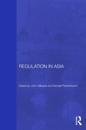 Regulation in Asia: Pushing Back on Globalization book cover