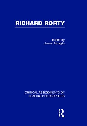 Richard Rorty (Hardback) book cover