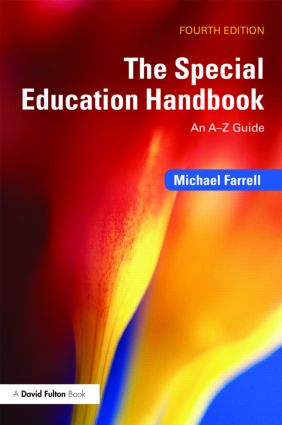 The Special Education Handbook: An A-Z Guide, 4th Edition (Paperback) book cover