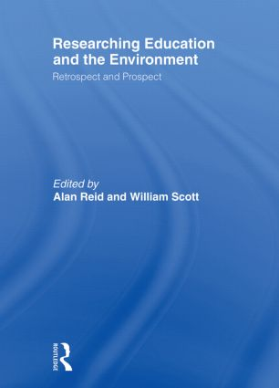 Researching Education and the Environment: Retrospect and Prospect (Paperback) book cover