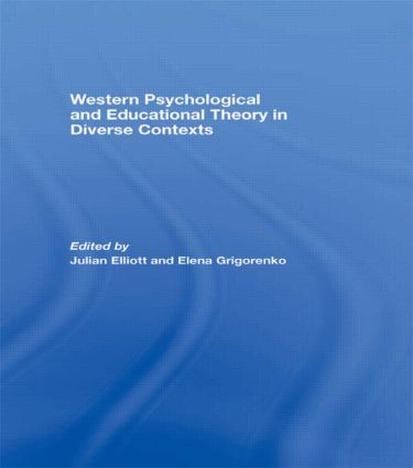 Western Psychological and Educational Theory in Diverse Contexts (Paperback) book cover