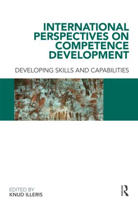 International Perspectives on Competence Development: Developing Skills and Capabilities (Paperback) book cover