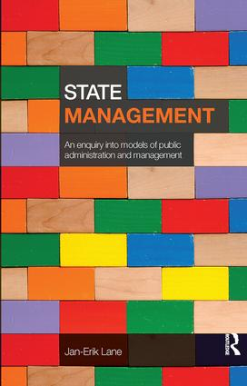State Management: An Enquiry into Models of Public Administration & Management, 1st Edition (Paperback) book cover