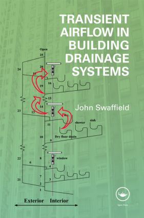 Transient Airflow in Building Drainage Systems: 1st Edition (Hardback) book cover