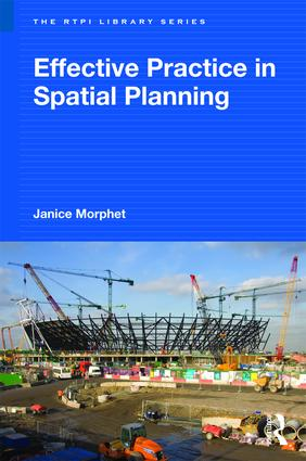 Effective Practice in Spatial Planning: 1st Edition (Paperback) book cover