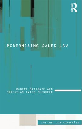 Modernising Sales Law book cover
