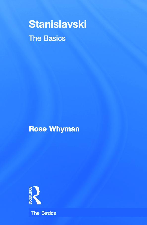 Stanislavski: The Basics (Hardback) book cover