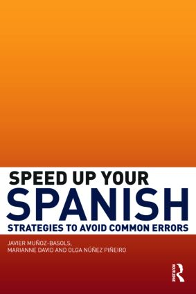 Speed Up Your Spanish: Strategies to Avoid Common Errors (Paperback) book cover