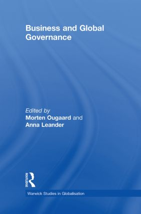 Business and Global Governance book cover