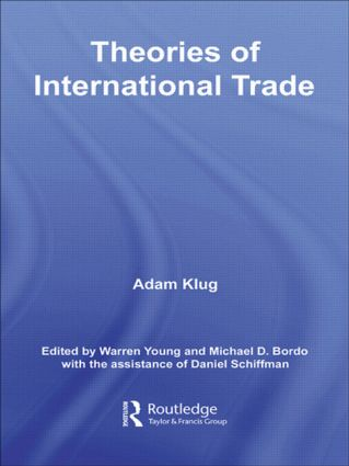 Theories of International Trade (Paperback) book cover