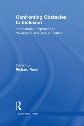 Confronting Obstacles to Inclusion: International Responses to Developing Inclusive Education book cover