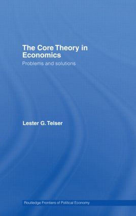 The Core Theory in Economics: Problems and Solutions, 1st Edition (Paperback) book cover