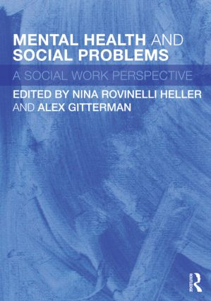 Mental Health and Social Problems: A Social Work Perspective (Paperback) book cover