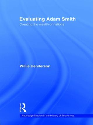 Evaluating Adam Smith (Paperback) book cover