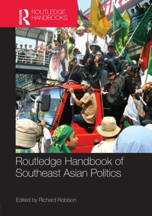 Routledge Handbook of Southeast Asian Politics (Hardback) book cover
