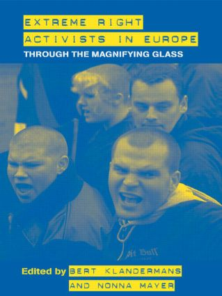 Extreme Right Activists in Europe: Through the magnifying glass (Paperback) book cover