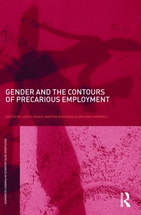 Gender and the Contours of Precarious Employment (Paperback) book cover