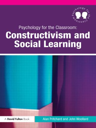 Psychology for the Classroom: Constructivism and Social Learning: 1st Edition (Paperback) book cover