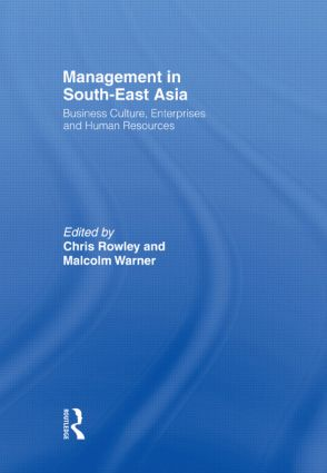 Management in South-East Asia: Business Culture, Enterprises and Human Resources (Paperback) book cover