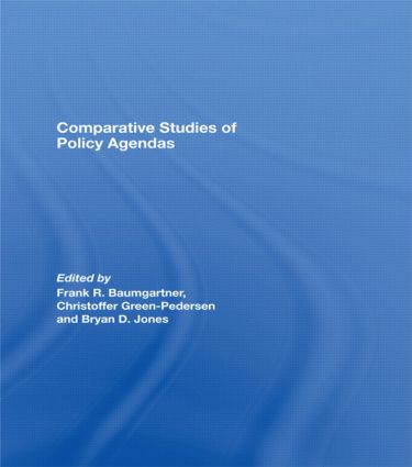 Comparative Studies of Policy Agendas: 1st Edition (Paperback) book cover