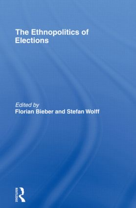 The Ethnopolitics of Elections (Paperback) book cover