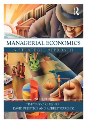Managerial Economics, Second Edition: A Strategic Approach (Paperback) book cover