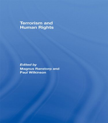 Terrorism and Human Rights: 1st Edition (Paperback) book cover