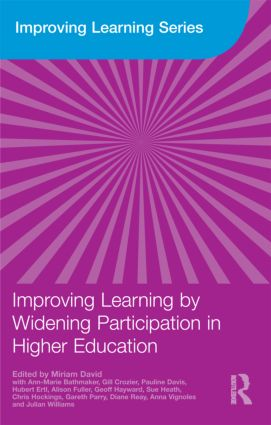 Improving Learning by Widening Participation in Higher Education: 1st Edition (Paperback) book cover
