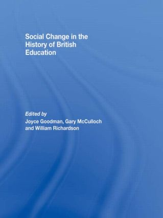Social Change in the History of British Education (Paperback) book cover