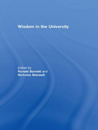 Wisdom in the University (Paperback) book cover