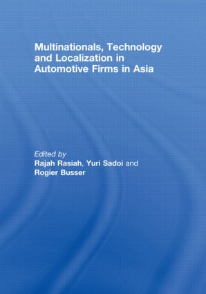 Multinationals, Technology and Localization in Automotive Firms in Asia: 1st Edition (Paperback) book cover