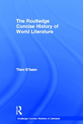 The Routledge Concise History of World Literature book cover