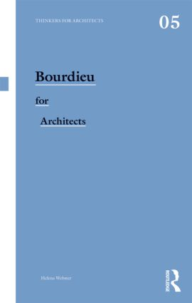 Bourdieu for Architects book cover