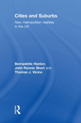 Cities and Suburbs: New Metropolitan Realities in the US book cover