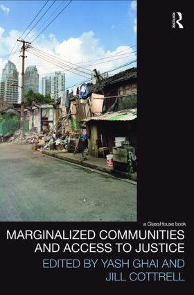 Marginalized Communities and Access to Justice (Hardback) book cover