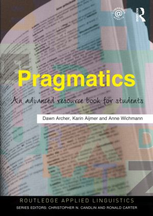 Pragmatics: An Advanced Resource Book for Students (Paperback) book cover