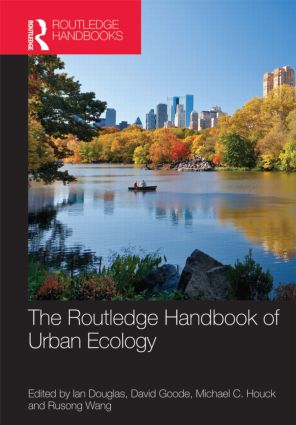 The Routledge Handbook of Urban Ecology (Hardback) book cover