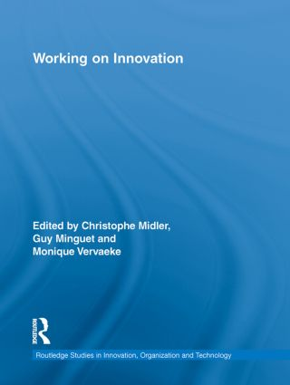 Working on Innovation (Hardback) book cover