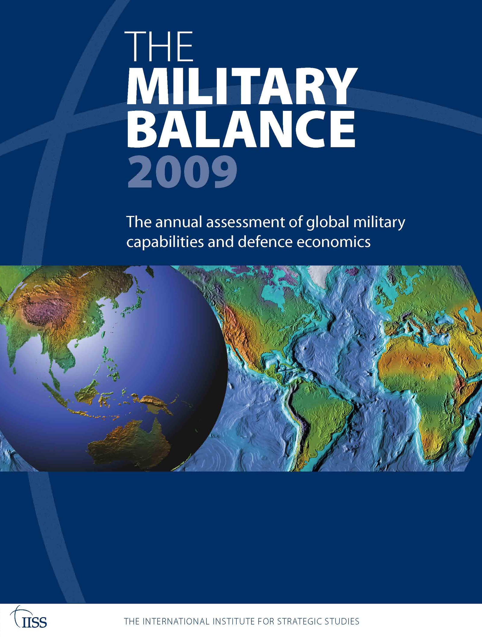 The Military Balance 2009 (Paperback) book cover