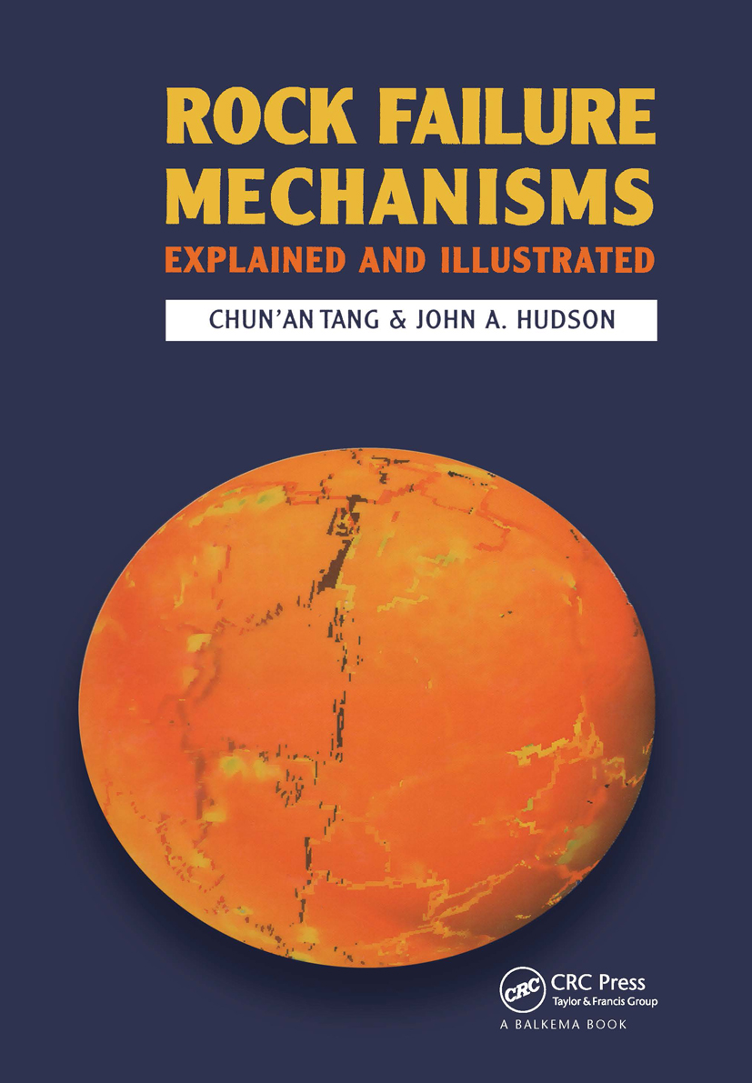 Rock Failure Mechanisms: Illustrated and Explained, 1st Edition (Hardback) book cover