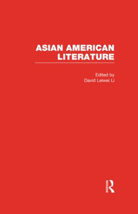 Asian American Literature (Hardback) book cover