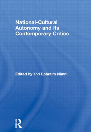 National-Cultural Autonomy and its Contemporary Critics