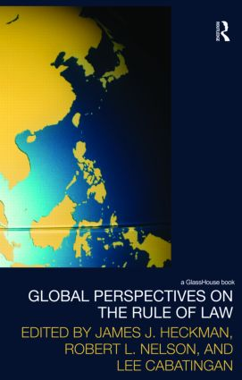 Global Perspectives on the Rule of Law (Hardback) book cover