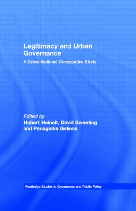 Legitimacy and Urban Governance: A Cross-National Comparative Study (Paperback) book cover