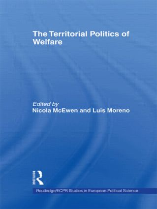 The Territorial Politics of Welfare book cover