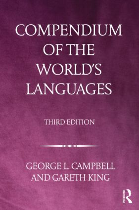 Compendium of the World's Languages: 3rd Edition (Hardback) book cover
