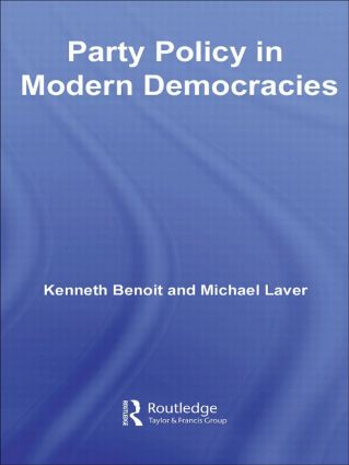 Party Policy in Modern Democracies (Paperback) book cover